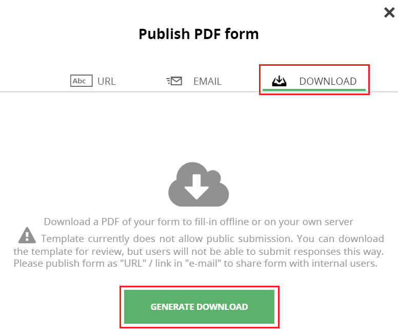 How to download a form – PDF Share Forms